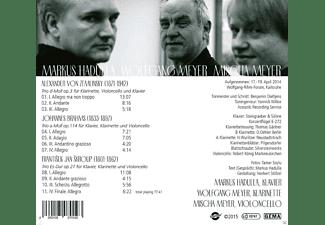 Markus Hadulla, Mischa Meyer, Meyer Wolfgang - Trios Für Klavier, Klarinette & Violoncello  - (CD)