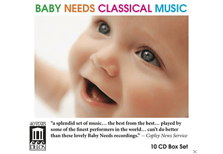 VARIOUS - Baby Needs Classical Music  - (CD)