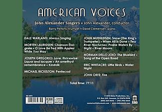 VARIOUS, John Singers Alexander - American Voices  - (CD)