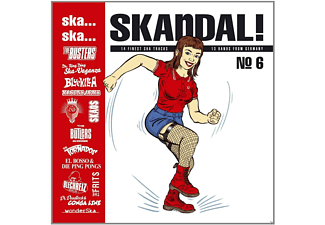 VARIOUS - Ska, Ska, Skandal No.6 (180 Gr./Download)  - (Vinyl)
