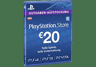 PlayStationStore Guthaben-Aufstockung 20 € [PS4, PS3, PS Vita PSN Code - österreichisches Konto]