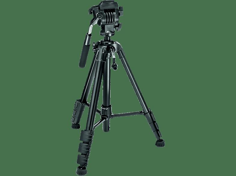 PRIMAPHOTO PHKV001 Dreibein Stativ, Schwarz, Höhe offen bis 1520 mm