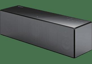 Altavoz inalámbrico - Sony SRS-X88 Negro, Multiroom, WiFi, Bluetooth, NFC, Airplay