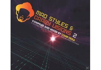 Louie Various & Vega - MAD STYLES And CRAZY VISIONS 2  - (CD)