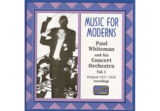 Paul Whiteman And His Orchestra - Music For Moderns - (CD)
