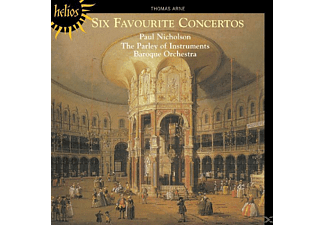 PAOI Baroque Orch., Nicholson/PAOI Baroque Orch. - Six Favourite Concertos - (CD)
