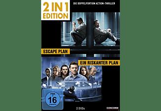 2 in 1 Edition: Escape Plan / Ein riskanter Plan DVD