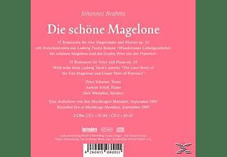 Peter Schreier, András Schiff, Gert Westphal - Die Schöne Magelone  - (CD)
