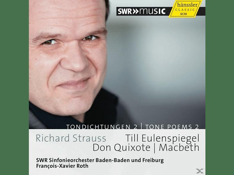 Roth, Guthmann, Lüthy, Swr Symphonieorchester - Tondichtungen Vol.2 [CD]