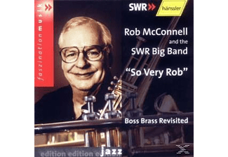 Rob And The Swr Big Band Mcconnell - So Very Rob  - (CD)