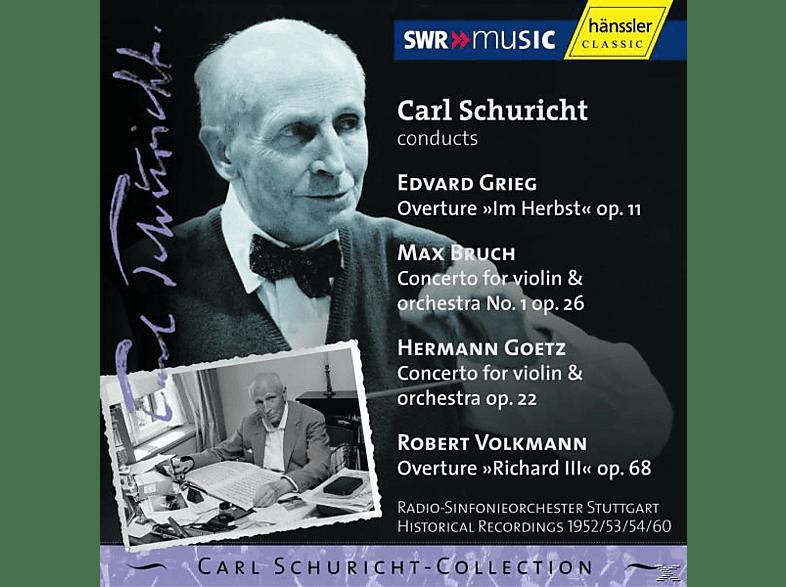 Carl/radio-sinfonieorchester Stuttgart Schuricht - Carl Schuricht Conducts Grieg [CD]