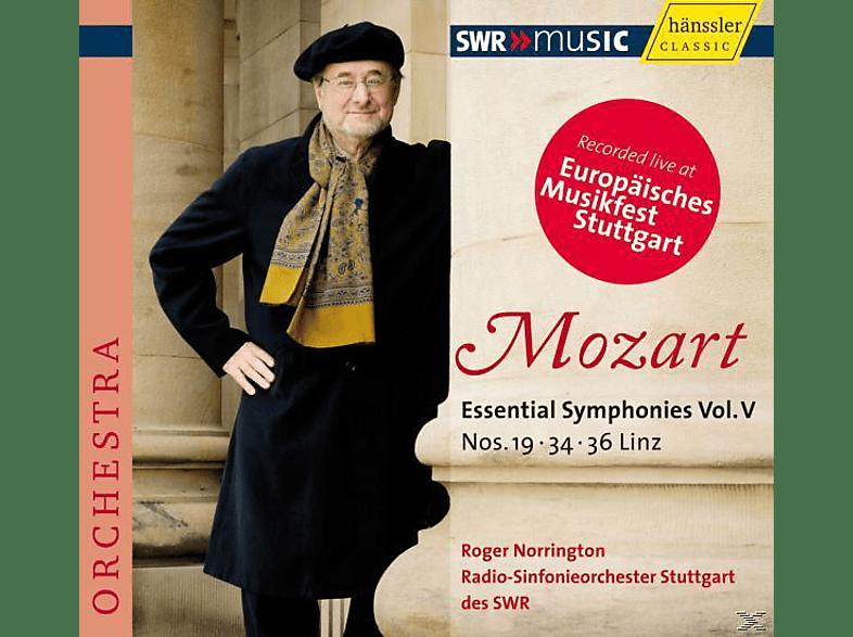 Swr So - Sinfonien 19,34+36 [CD]