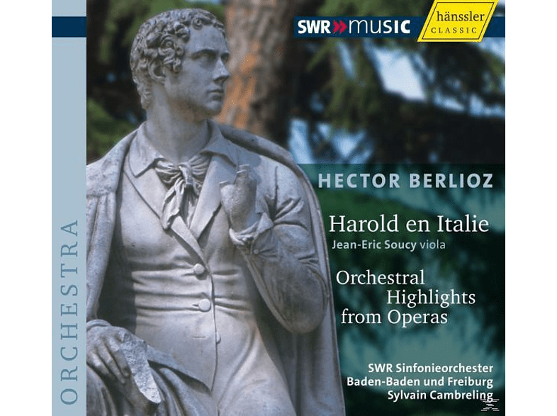 Swr Sinfonieorchester, Sylvain Cambreling, Soucy - Harold In Italien [CD]
