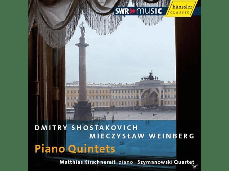 Matthias & Szymanowski Quartett Kirschnereit - Piano Quintets [CD]