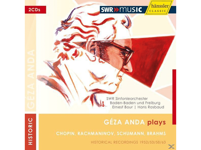 Géza Anda - Geza Anda Plays [CD]