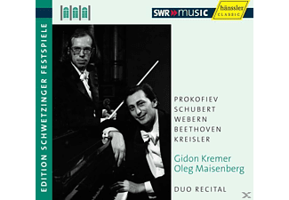 Maisenberg Kremer - Duo Recital - (CD)