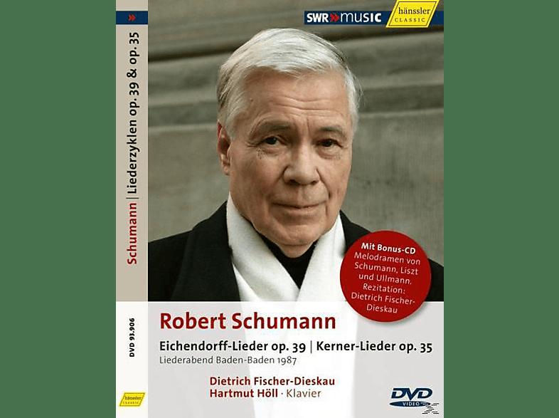 Dietrich Fischer-dieskau & Hartmut Höll - Eichendorff-Lieder/Kerner-Lieder [CD + DVD Video]