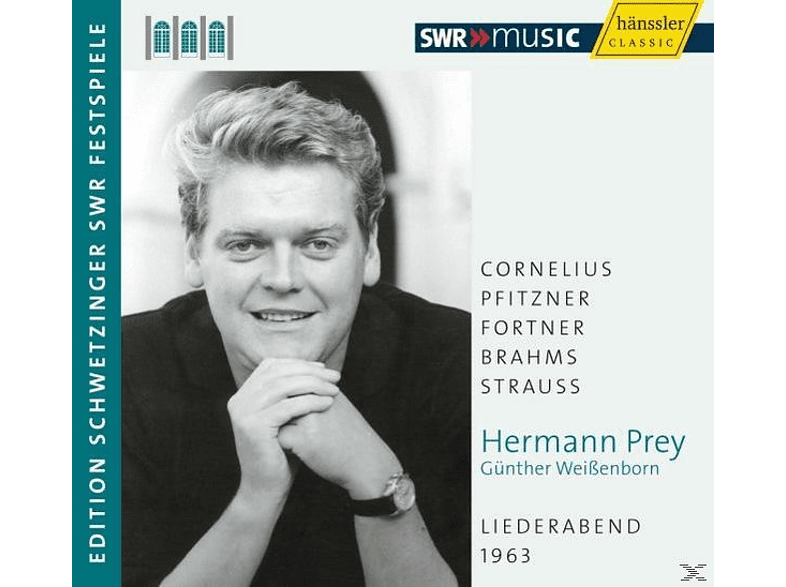 Hermann Prey - Liederabend 1963 [CD]