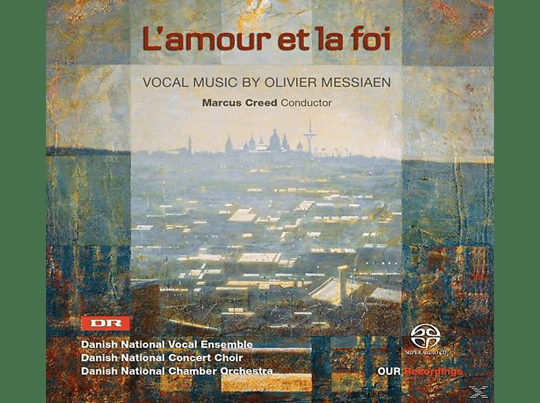 Martin/danish National Vocal Ensemble/+ Creed - L'amour Et La Foi [SACD]