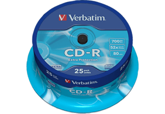 VERBATIM CD-R Extra Protection 25τεμ.- (43432)