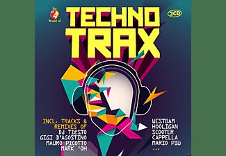 VARIOUS - Techno Trax  - (CD)