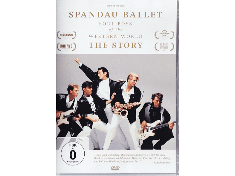 Spandau Ballet – Soul Boys of the Western World – The Story [DVD]