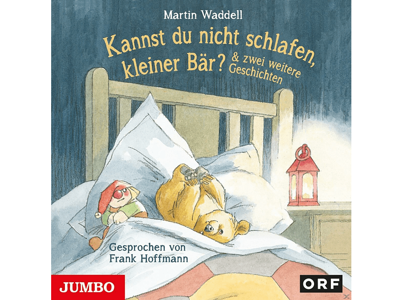 Martin Waddell - Kannst du nicht schlafen, kleiner Bär? - (CD)