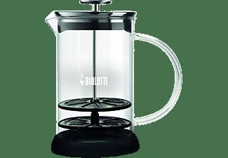 BIALETTI Milchaufschäumer 4410, Transparent/Schwarz, 1 Liter