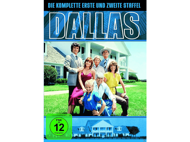 Dallas - Die komplette Staffel 1 & 2 [DVD]