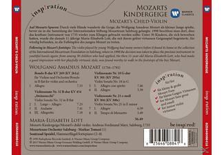 Mos, Maria-elisabeth Lott, Markus Tomasi - Mozarts Kindergeige:For Kids  - (CD)
