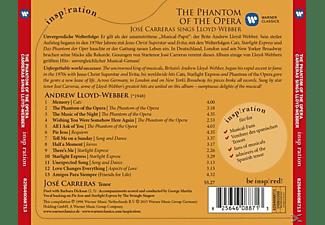 José Carreras - Phantom Of The Opera:Josécarreras Sings Lloyd  - (CD)
