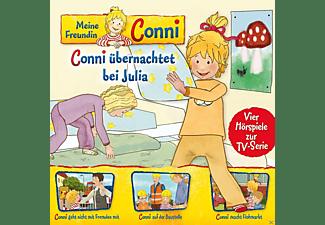 Meine Freundin Conni (Tv-Hörspiel) - 08: Conni Übernachtet/Fremden/Baustelle/Flohmarkt  - (CD)