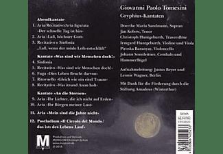 Sandmann/Huntgeburth/Baranyay/Sonnleitner - Die Gryphius-Kantaten  - (CD)