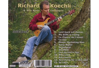 Richard Koechli - Laid-back  - (CD)