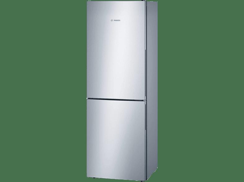 BOSCH KGV33UL30  Kühlgefrierkombination (A++, 219 kWh/Jahr, 1760 mm hoch, Edelstahl)