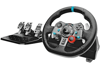 Volante - Logitech G29 Driving Force, PS4, PS3, Pc, 6 velocidades, LED