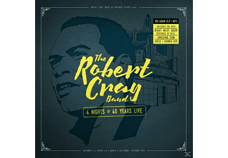 The Robert Cray Band - 4 Nights Of 40 Years Live (180gr.2lp Gatefold+Mp3) - (LP + Download)