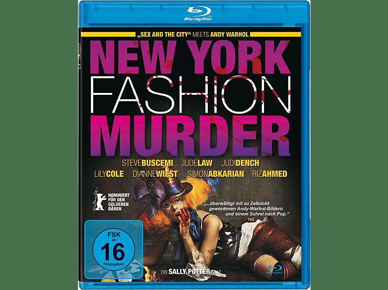 New York Fashion Murder [Blu-ray]