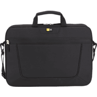 CASE-LOGIC VNAI 215 Basic Attache Notebooktasche, Umhängetasche, 15.6 Zoll, Schwarz