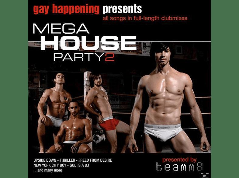VARIOUS - Gay Happening Pres.Mega House Party 2 [CD]