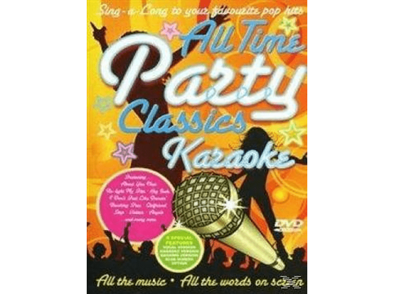 VARIOUS - All Time Party Classics Karaoke [DVD]