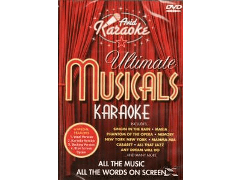 Karaoke - Ultimate Musicals Karaoke [DVD]