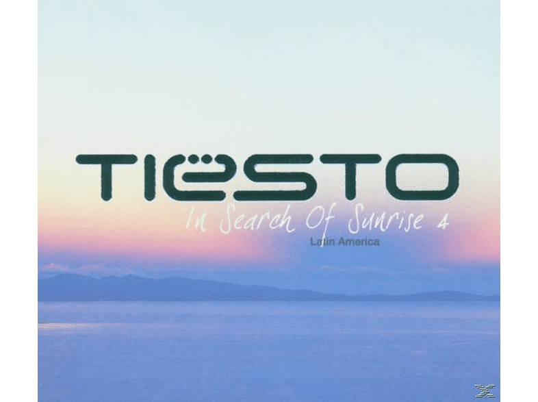 DJ Tiësto - In Search Of Sunrise 4 [CD]