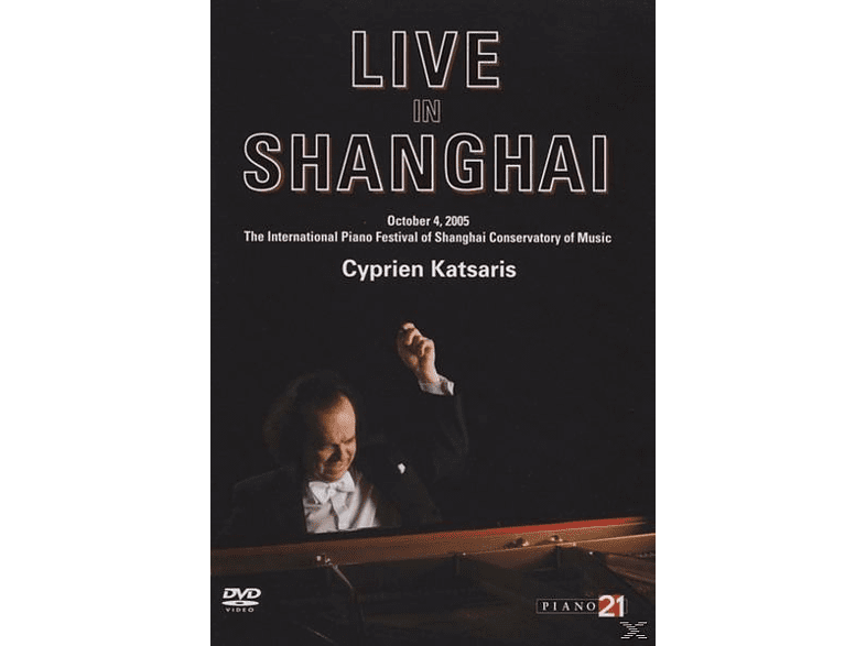 Cyprien Katsaris - Live In Shanghai [DVD]