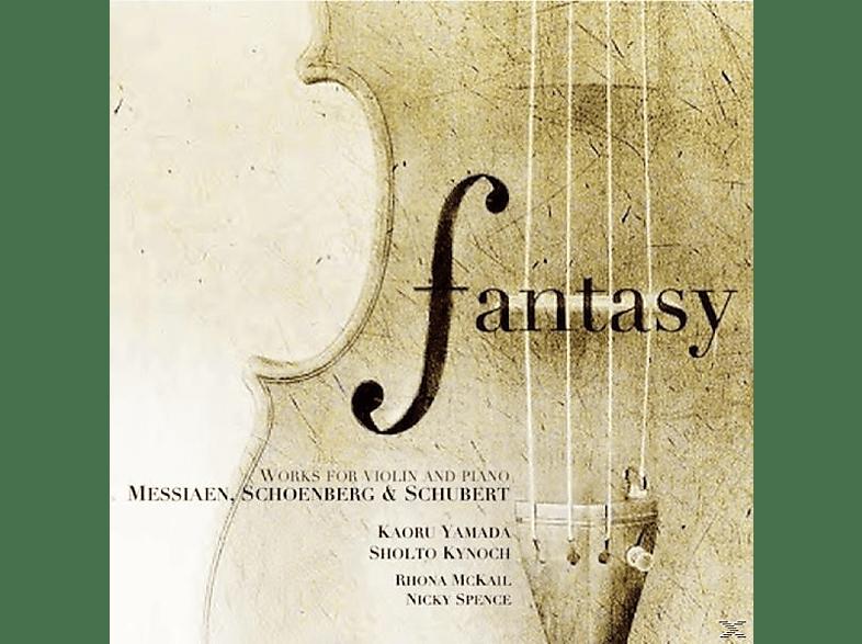 Nicky Spence, Kaoru Yamada, Rhona Mckail, Sholto Kynoch - Fantasy: Werke für Violine und Klavier [CD]