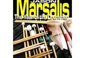 Jason Marsalis - THE YEAR OF THE DRUMMER  - (CD)