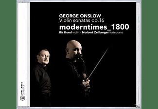 Modern Times, Modern Times 1800 - Violin Sonatas op.16  - (CD)