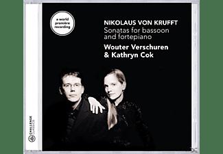 VERSCHUREN,WOUTER & COK,KATHRYN - Sonatas For Bassoon And Pianoforte  - (CD)