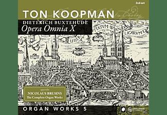 Ton Koopman - Opera Omnia X-Organ Works V/+  - (CD)