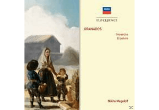 Nikita Magaloff - Goyescas/El pelele  - (CD)